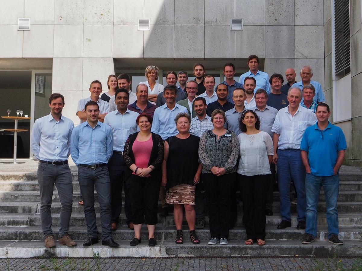 BRIDGES consortium during the 1st General Assembly, Porto, Sep 2016