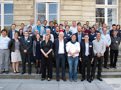 BRIDGES Consortium during the Kick-Off Meeting, Paris, April 2015